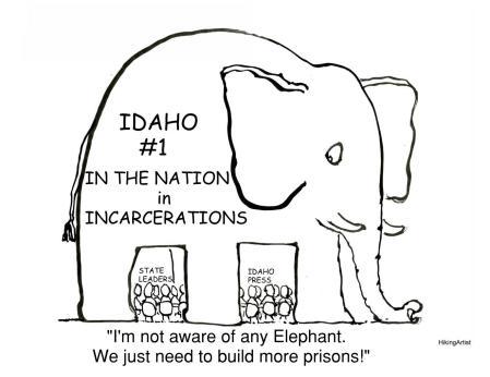 Political cartoon-Elephant